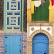 Beauty arabic door - Stock Photo