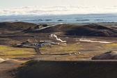 Myvatn area landscape - Iceland. — Stock Photo