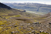 Mountain part of 917 route - Iceland. — Stock Photo