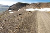 Gravel mountain route - 917. Iceland — Stock Photo