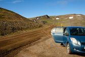 917 Route. North parth of Iceland. — Stock Photo
