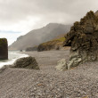 Beauty, rocky coastline - Hvalnes area - Iceland - Stock Photo