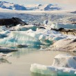 Jokulsarlon, beauty ice lagoon in Iceland — Photo