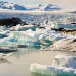 Jokulsarlon, beauty ice lagoon in Iceland — Stock Photo #5793019