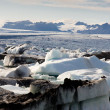 Stock Photo: View on Vatnajokull Glacier - Iceland