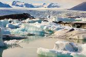 Jokulsarlon, beauty ice lagoon in Iceland — Stock Photo