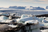 View on Vatnajokull Glacier - Iceland — Stock Photo