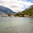 View on bay of Kotor - Montenegro — Stock Photo