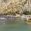 Aerial view on Kotor - Montenegro — Stock Photo