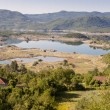 View on Slano lake - Montenegro — Stock Photo