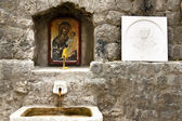 Kotor, Montenegro. Holy source. — Stock Photo
