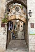 Narrow street - Kotor, Montenegro — Stock Photo