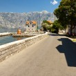 Narrow street - Montenegro — Stock Photo