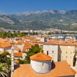 View on Budva old town - Montenegro — Stock Photo #6550387