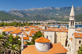 View on Budva old town - Montenegro — Stock Photo