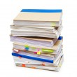 Pack of account books — Stock Photo