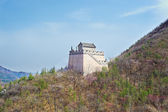Tower in the Chinese mountains — Stock Photo