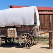 Covered wagon — Stockfoto