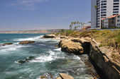 La Jolla waterfront — Stock Photo