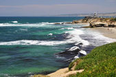 La Jolla coastline — Stock Photo