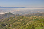 Smog over San Bernardino — Stock Photo
