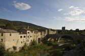 Languedoc içinde lagrasse — Stok fotoğraf