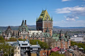 Chateau Frontenac, Quebec — Stock Photo