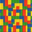 Lego background — Stock Photo