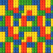 Lego background - Stock Photo