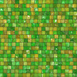 Ceramic Wall background - mosaic — Stock Photo