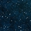 Stock Photo: Seamless Starfield with Glowing Stars at Night