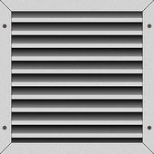 The ventilation lattice — Stock Photo