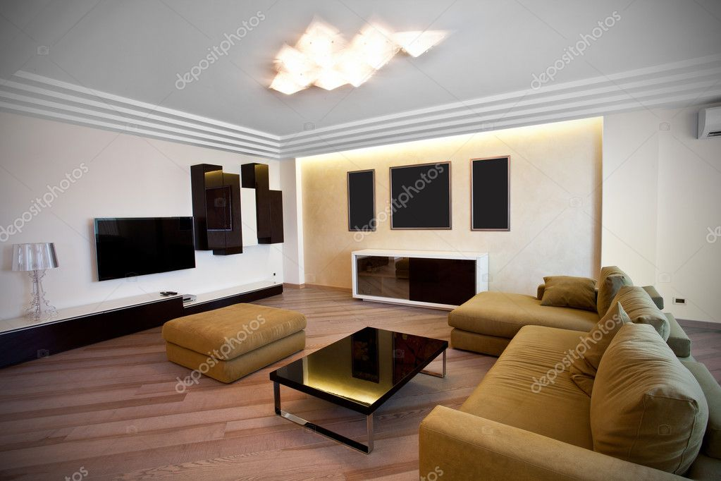 Interior of the modern room  — Stock Photo #5704836