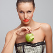 Fruit seduction. — Stock Photo