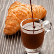 Morning and sweets. - Foto Stock