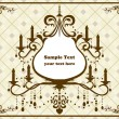 Royalty-Free Stock Vector Image: Chandelier frame