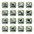 Royalty-Free Stock Vector Image: File icon set