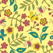 Seamless floral pattern — Stock Vector #5691714