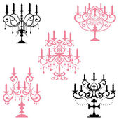 Candelabra — Stock Vector