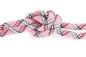 Alpinist rope with knot — ストック写真