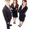 Young asian business team — Stock Photo