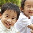 Happy asian kids — Stock Photo