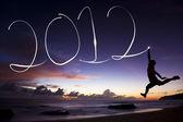 Gelukkig nieuw jaar 2012 — Stockfoto