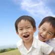 Portrait of happy little boys — Stock Photo #6694487