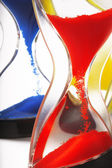 Hourglass closeup shot — Stock Photo