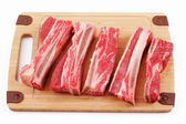 Beef ribs — Stock Photo