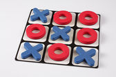 Game tic tac toe — Stock Photo