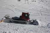 Ski slope, the Caucasus, snowcat — Stock Photo