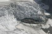 Glaciers Caucasus — Stock Photo