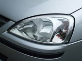 Automotive headlamp — Stock Photo